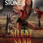 silent sand lettering